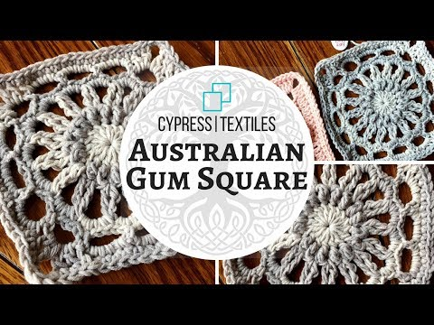 Australian Gum Square - VVCAL 2018 Reboot Crochet Motif