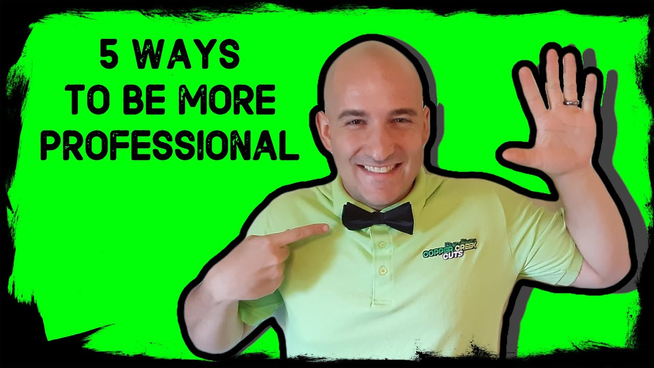 5 Ways To Make Your Business More Professional (For Free)