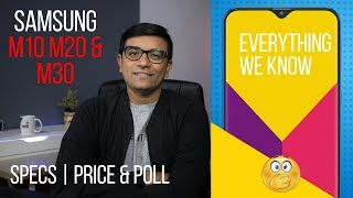 Samsung Galaxy M10, M20, M30 - Price & Specs We Know! (VOTE NOW)