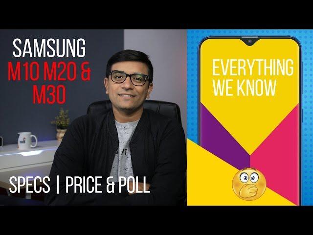 Samsung Galaxy M10, M20, M30 - Price & Specs We Know! (VOTE NOW)