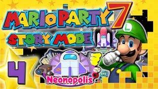 MARIO PARTY 7 🎲 #4: Krasses Glück in Neonopolis