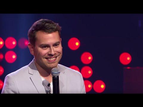 Jimmy Colman zingt 'Kiss' | Blind Audition | The Voice van Vlaanderen | VTM
