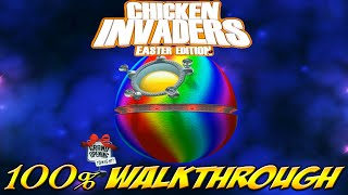 Chicken Invaders 3: Easter Edition - ALL WAVES / LEVELS [100% walkthrough]
