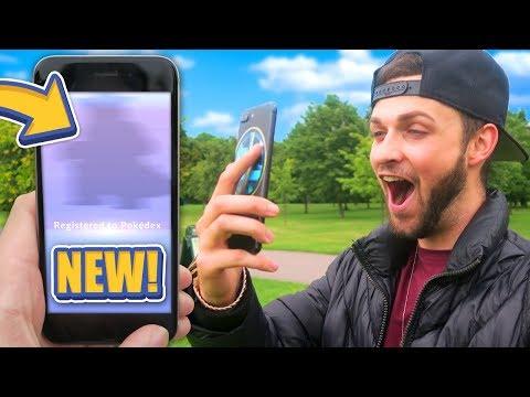 A BRAND NEW POKEMON! (Pokemon GO)