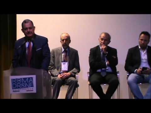 """Roma Drone Conference 28/10/15 """"""""Dronevisioni"""" - parte 1"""