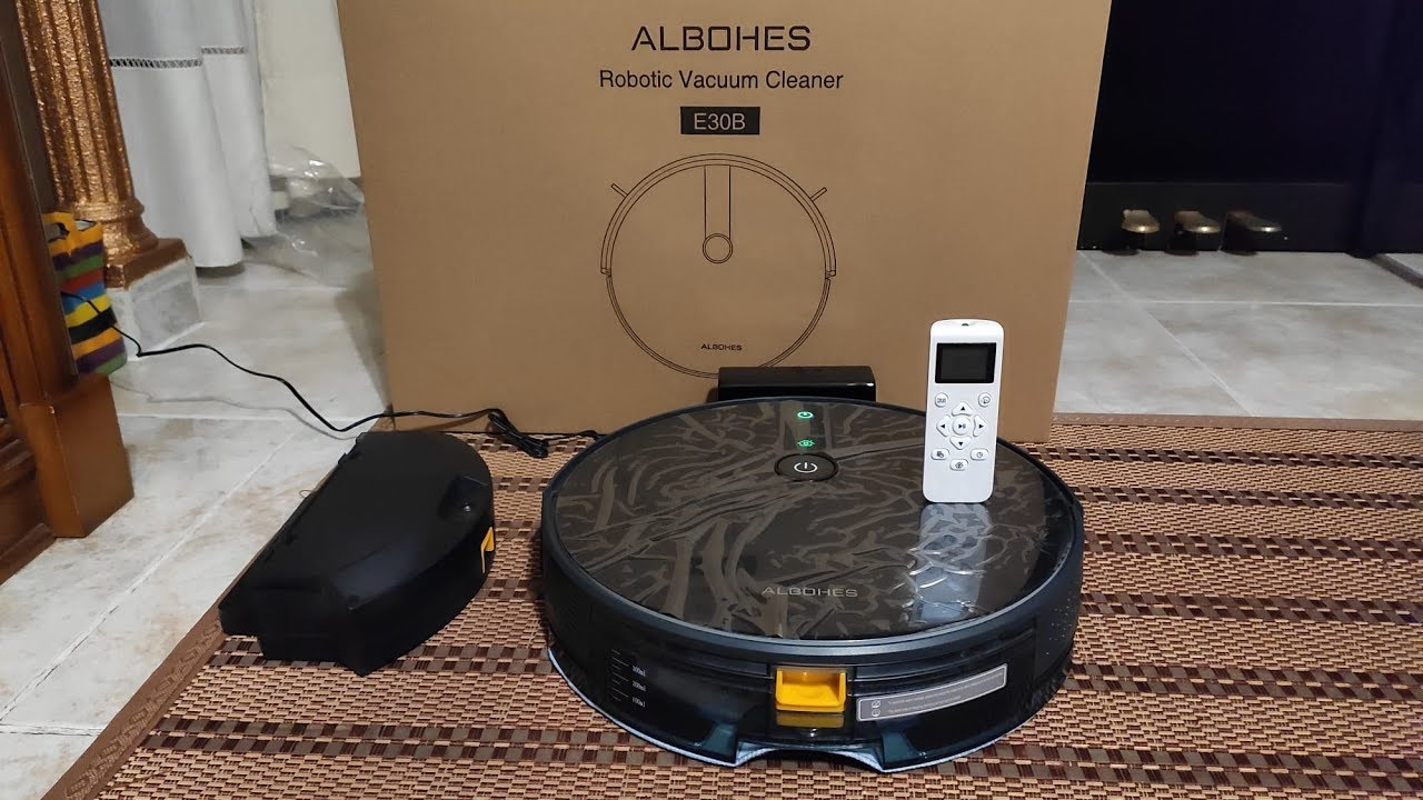 ALBOHES Robot Vacuum Cleaner and also Mop
