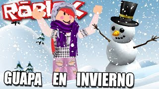 MY LOOK FOR WINTER!! I GET BEAUTIFUL IN FASHION FRENZY!! | ROBLOX (in Spanish)