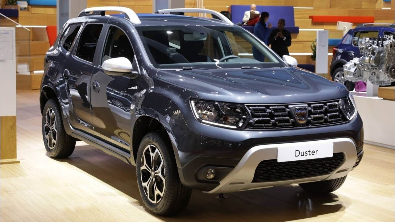 dacia at paris motor show 2018 duster sandero stepway lodgy stepway 2019 youtube. Black Bedroom Furniture Sets. Home Design Ideas