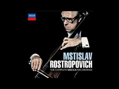 Mstislav Rostropovich - Schubert : Sonata For Arpeggione And Piano In A