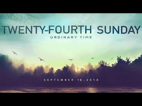 Weekly Catholic Gospel Reflection For September 16, 2018 | Twenty-Fourth Sunday of Ordinary Time
