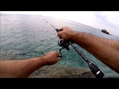 Δυσκολες ακτες ψαρεματα απ'εξω spinning