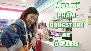 Mua mĩ phẩm drugstore rẻ ở Paris