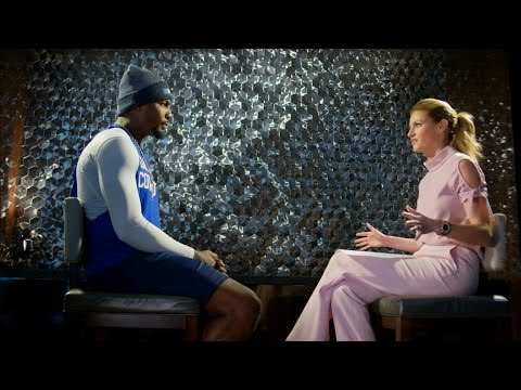 Dez Bryant and Erin Andrews