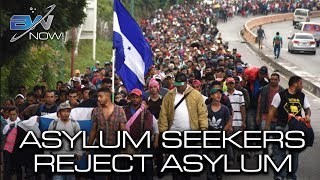 Caravan Rejects Mexican President