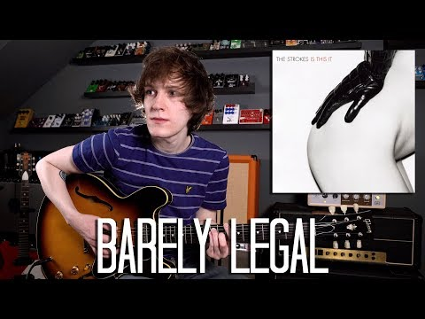 Barely Legal - The Strokes Cover