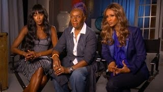 Naomi Campbell, Iman interview on Good Morning America (Top Black Models)