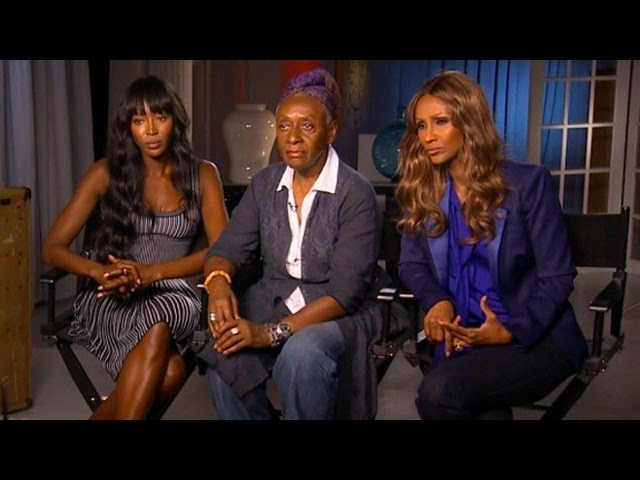 Naomi Campbell Iman Interview On Good Morning America Top Black Models