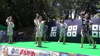 きみともキャンディ 2018.7.22 ライブ1部 丸亀城納涼フェスタにて □セ...