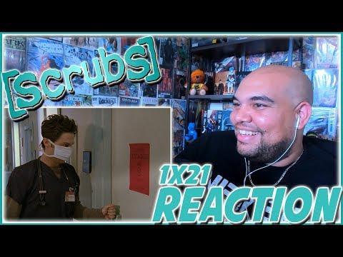 """Scrubs REACTION Season 1 Episode 21 """"My Sacrificial Clam"""" 1x21 Reaction"""