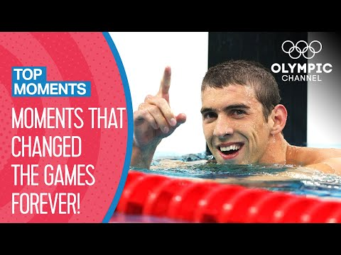 Top 10 Game Changing Moments At The Olympics   Top Moments