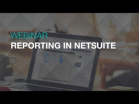 Reporting in NetSuite Webinar   Sikich LLP