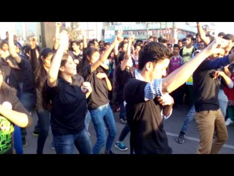 E-Week 2015 FlashMob @ Rahgiri Indore