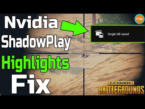 PUBG Highlights - Recovering Lost Video From Nvidia ShadowPlay Highlights Crashes (Battlegrounds)
