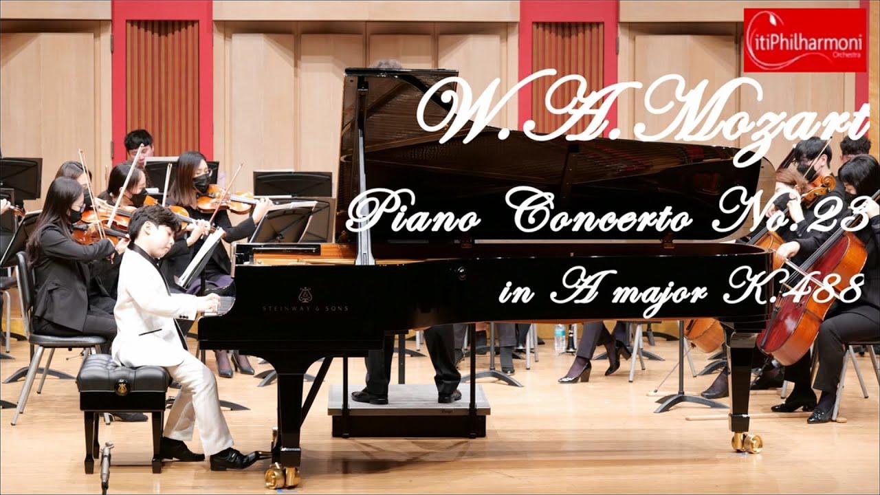 Mozart Piano Concerto No.23 in A Major, K.488 모차르트 피아노 협주곡 23번 1악장   초3   9yrs   시티필하모니오케스트라