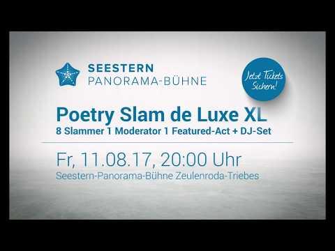 Poetry Slam de Luxe XL auf der Seestern Panorama-Bühne
