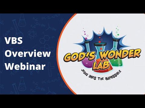 God's Wonder Lab Overview Webinar | 2021 VBS
