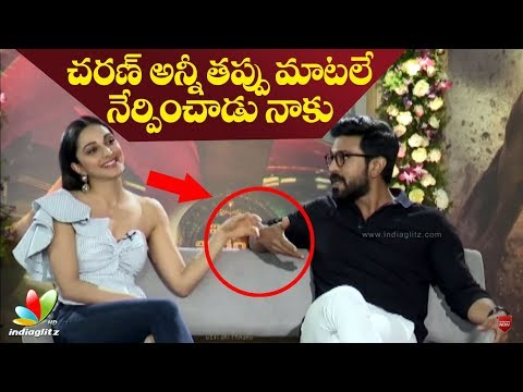 Ram Charan taught me only wrong words in Telugu: Kiara Advani | Vinaya Vidheya Rama interview