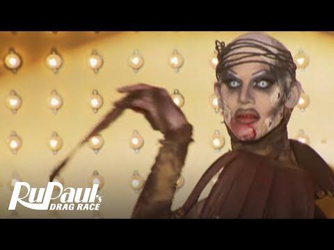 RuPaul's Drag Race | Sharon Needles Disco Bloodbath | #TBT