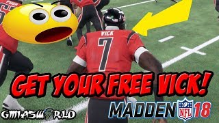 Madden 18 Tips: HOW TO GAIN 4000 YARDS WITH MIKE VICK AND GET YOUR FREE ELITE MIKE VICK IN MUT 18!