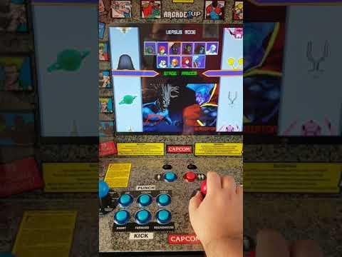 Shi'ar invasion on arcade 1up machine Part 2 from bdcirck