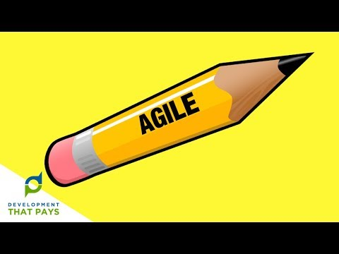 What is Agile? Agile Explained... with a PENCIL!