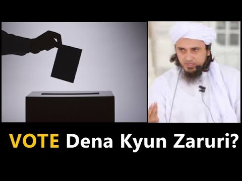 What is Democracy? Why Voting Is Important? - Mufti Tariq Masood