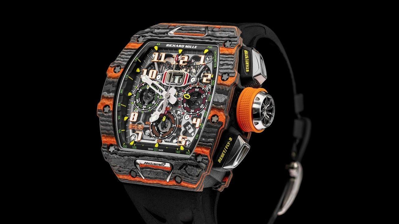 83d3ad688 سعر ساعة ريتشارد ميل أكثر من ثمن مرسيدس AMG GT-R - YouTube