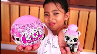 Unboxing Mainan Anak LOL  Surprise Pets Eye Series Color Change