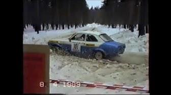 Oulu - Ralli 1989