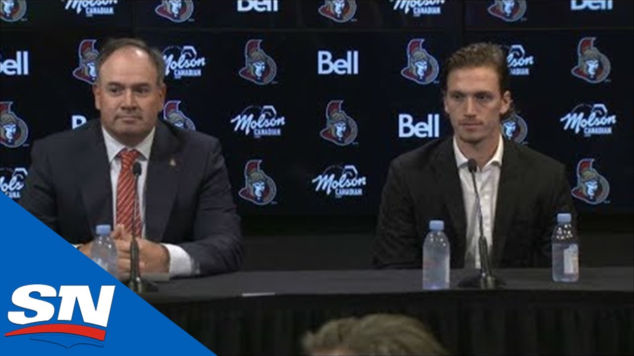 Senators Lock Up Thomas Chabot For 8 Years, $64M Extension | FULL Press Conference