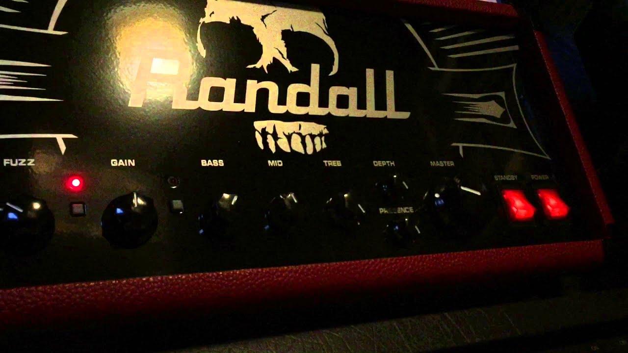 Randall Thrasher 50 & EOD 88 by GuitarnbassTV
