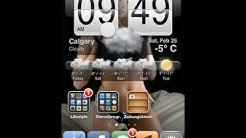 HTC Uhr und Wetterinfo iPod/Phone Deutsch