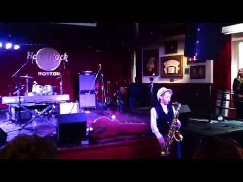 Tenor Sax performance at the Hard Rock Cafe