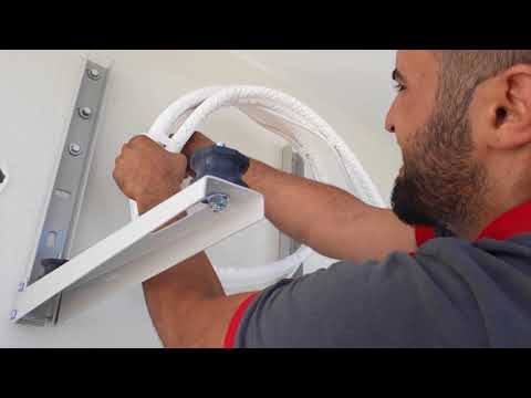 Mitsubishi electric klima montajı