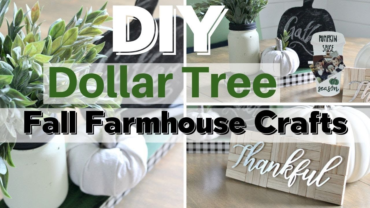 Fall Dollar Tree Crafts 2019