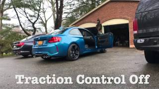 2018 BMW M2 LCI STOCK EXHAUST REVVING!+ FIRST LAUNCH!