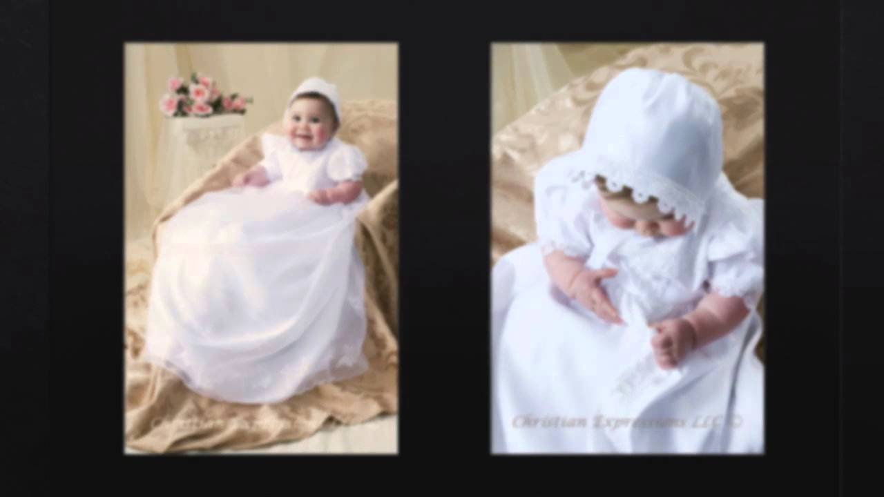 Girls Christening Gowns and Boys Baptism Suits-Rhode Island-RI - YouTube