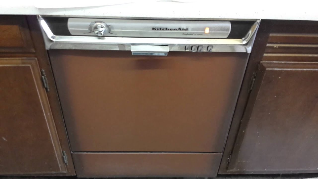 Kitchen Aid Washer Round Rustic Table Kitchenaid Dishwasher By Hobart Youtube