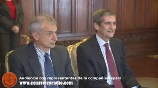 AUDIENCIA CON REPRESENTANTES DE LA COMPAÑÍA REPSOL