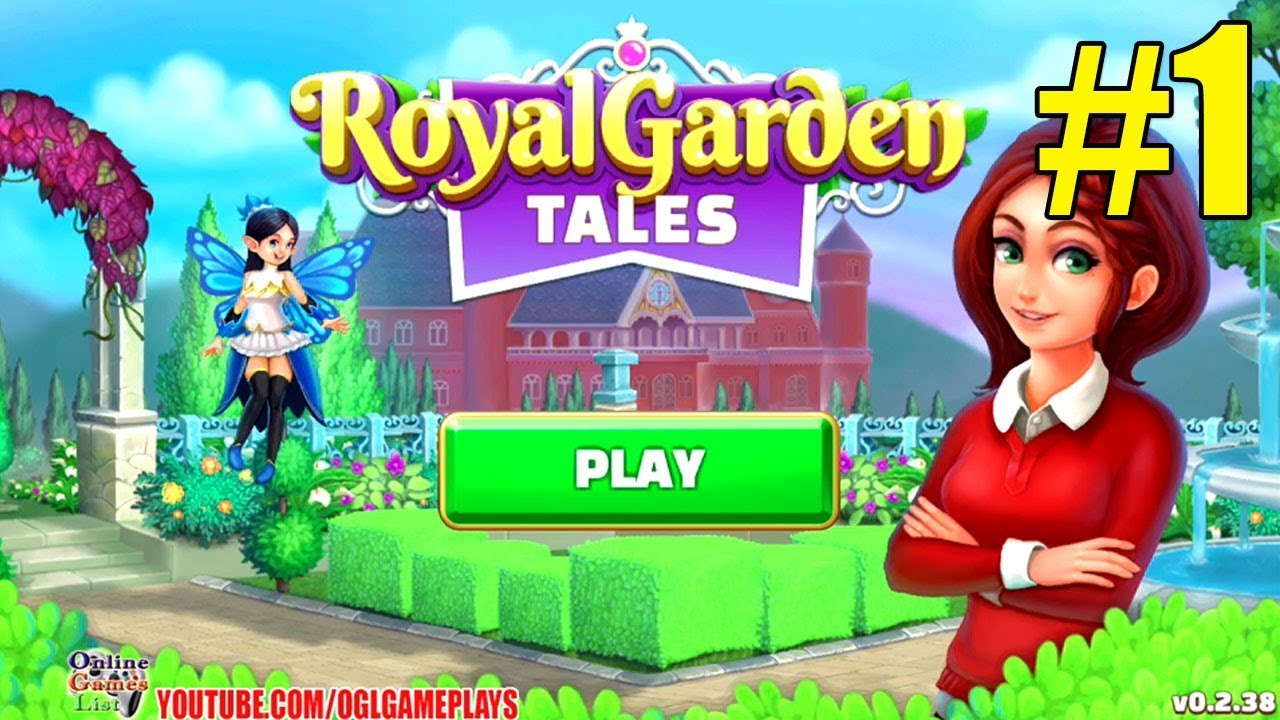 Royal Garden Tales Walkthough Part 1 Gameplay ᴴᴰ (Android iOS ...